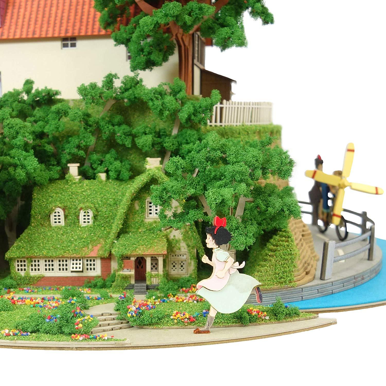 みにちゅあーとキット スタジオジブリシリーズ『魔女の宅急便ジオラマ』模型-010