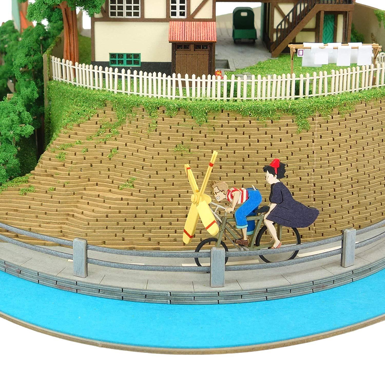 みにちゅあーとキット スタジオジブリシリーズ『魔女の宅急便ジオラマ』模型-011