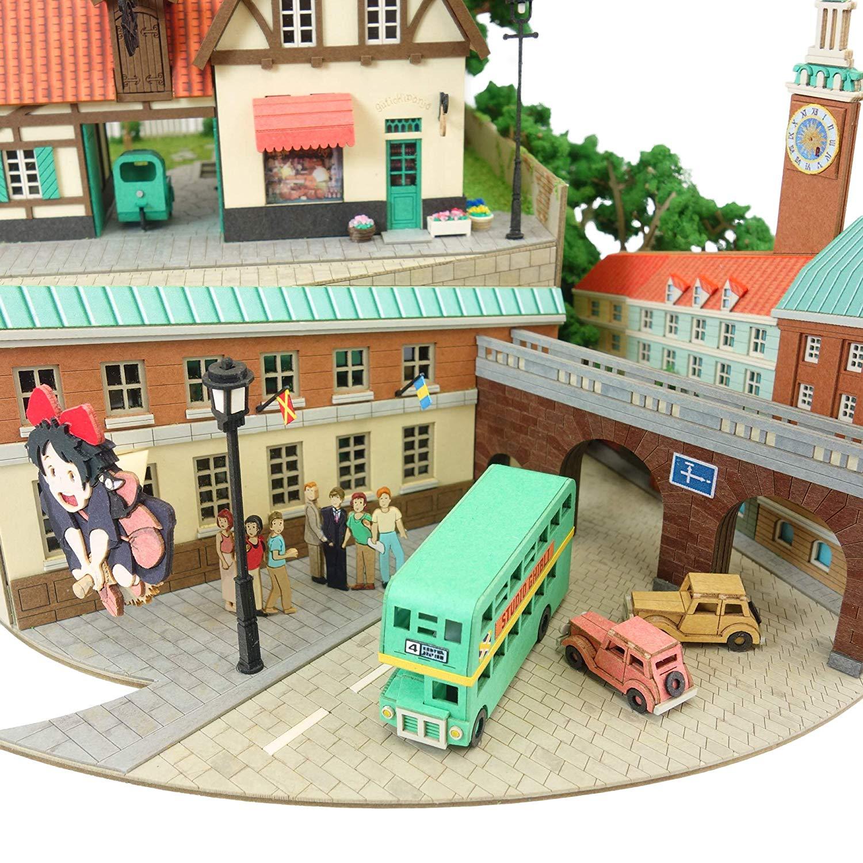 みにちゅあーとキット スタジオジブリシリーズ『魔女の宅急便ジオラマ』模型-013