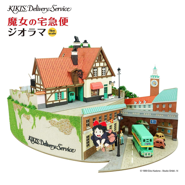 みにちゅあーとキット スタジオジブリシリーズ『魔女の宅急便ジオラマ』模型-014