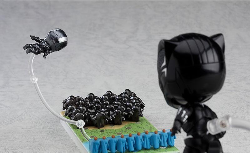 ねんどろいど『ブラックパンサー インフィニティ・エディション DX Ver.』アベンジャーズ 可動フィギュア-009