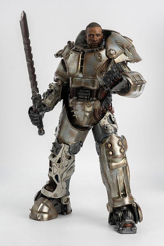 フォールアウト『Fallout X-01 POWER ARMOR(パワーアーマー)』1/6 可動フィギュア-006