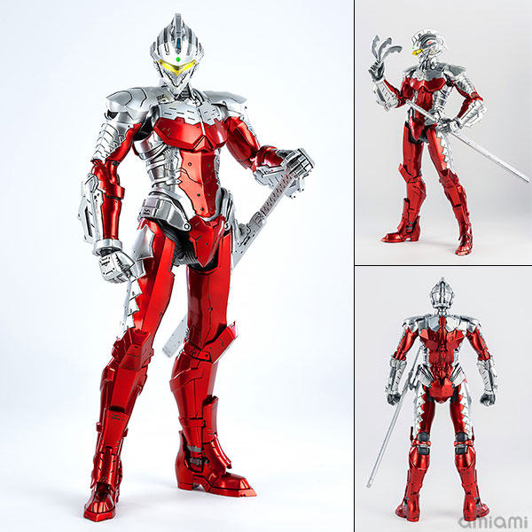 ULTRAMAN『ULTRAMAN SUIT Ver7(Anime Version)』1/6 可動フィギュア
