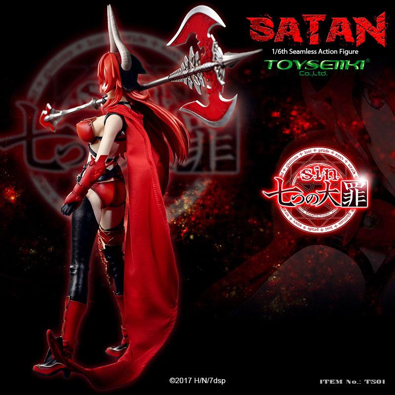 sin 七つの大罪『サタン』1/6 シームレスアクションフィギュア-009