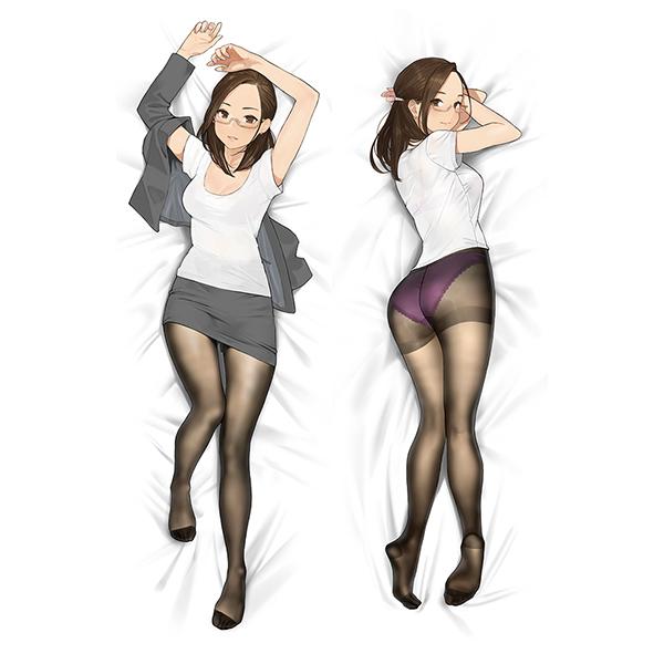 みるタイツ『抱き枕カバー 奥墨ユイコ』グッズ