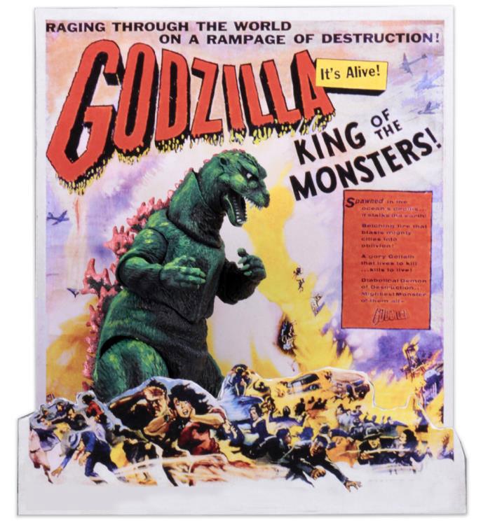 ゴジラ『ゴジラ1954(アメリカンポスターver)』 6インチ アクションフィギュア-005