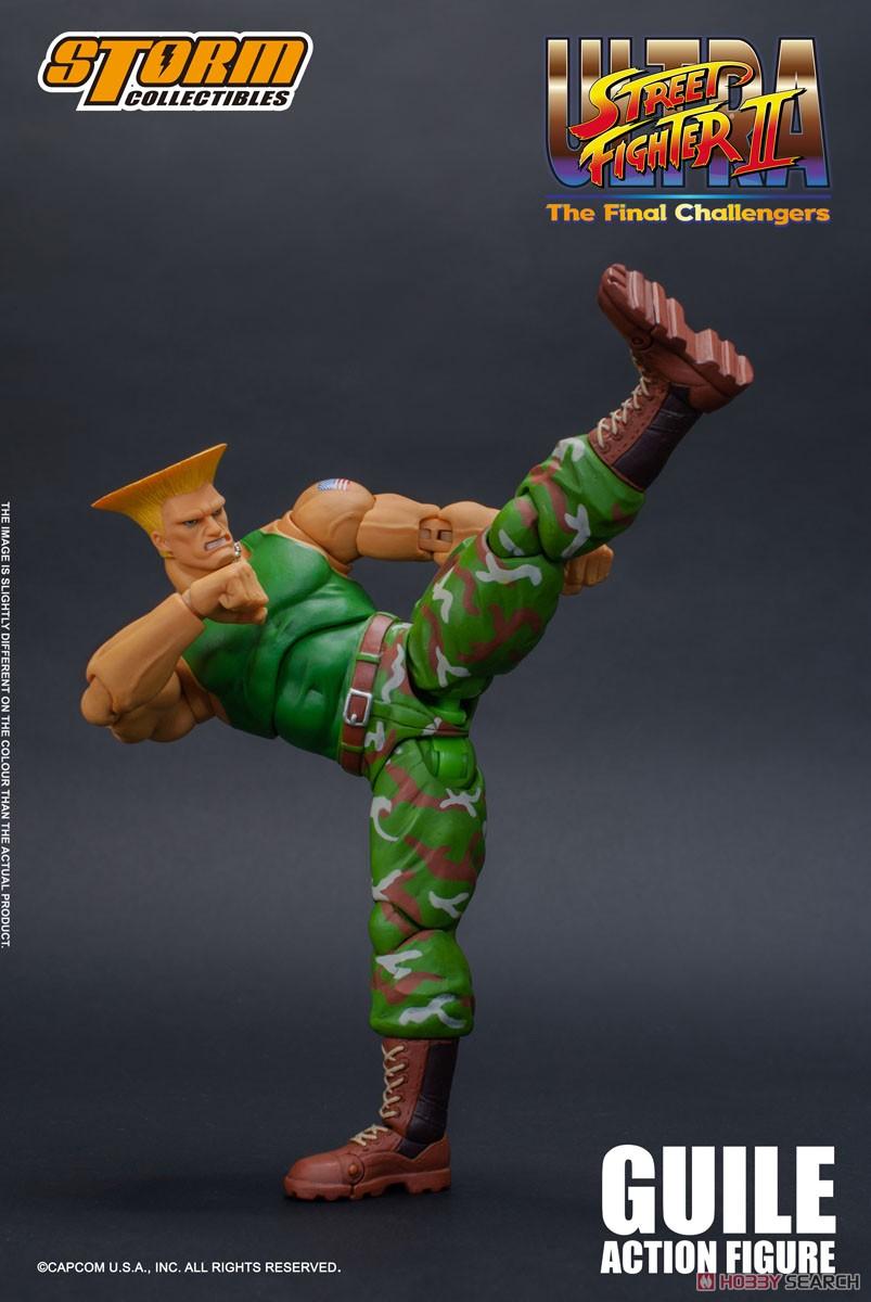 ウルトラストリートファイターII『ガイル』アクションフィギュア-006