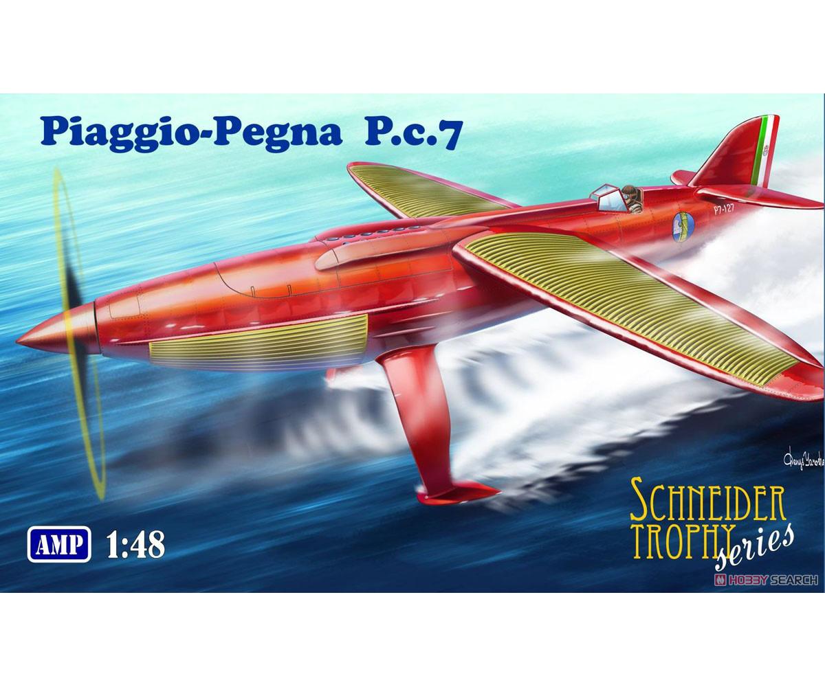 1/48『ピアッジョ・ペグナ P.c.7』プラモデル-001