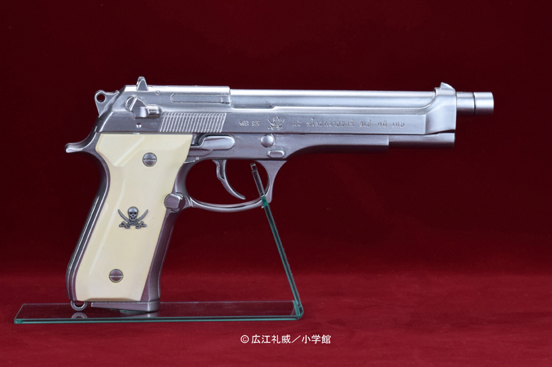 "BLACK LAGOON『SWORD CUTLASS the Water Gun ""Two Hand set""』1/1 ウォーターガン 塗装版シルバー2丁セット-001"