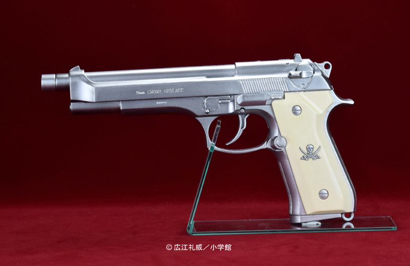 "BLACK LAGOON『SWORD CUTLASS the Water Gun ""Two Hand set""』1/1 ウォーターガン 塗装版シルバー2丁セット-002"