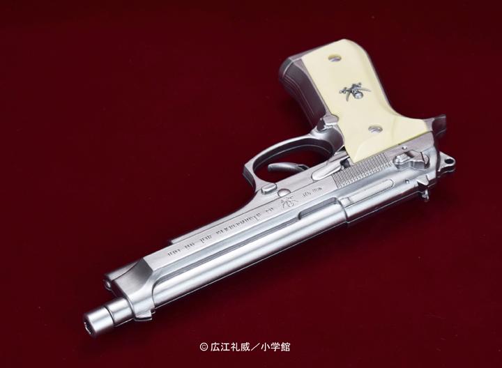 "BLACK LAGOON『SWORD CUTLASS the Water Gun ""Two Hand set""』1/1 ウォーターガン 塗装版シルバー2丁セット-006"