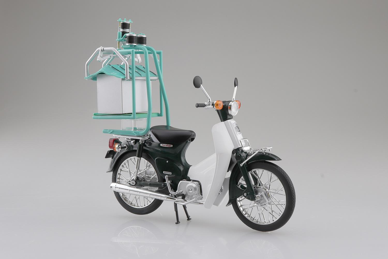 ホンダ『Honda スーパーカブ50 出前機付』1/12 ミニカー-001