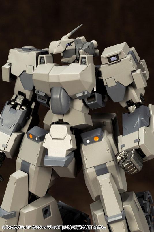 M.S.G メカサプライ15『 カスタマイズヘッドB 』プラモデル-013