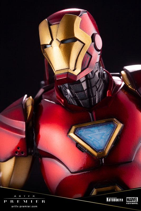 ARTFX PREMIER『アイアンマン』MARVEL UNIVERSE 1/10 簡易組立キット-009