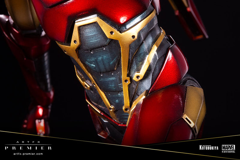 ARTFX PREMIER『アイアンマン』MARVEL UNIVERSE 1/10 簡易組立キット-010
