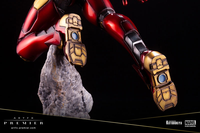 ARTFX PREMIER『アイアンマン』MARVEL UNIVERSE 1/10 簡易組立キット-011