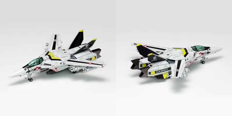 超時空要塞マクロス『VF-1[A / J / S]ファイター マルチプレックス』1/100 プラモデル-002