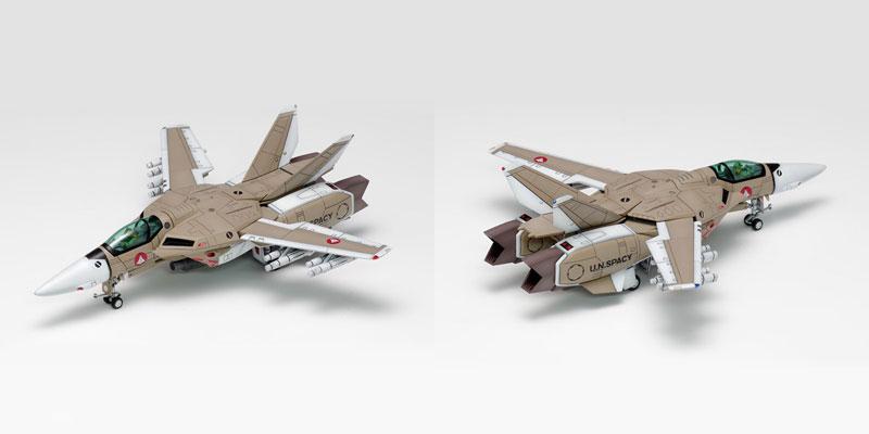 超時空要塞マクロス『VF-1[A / J / S]ファイター マルチプレックス』1/100 プラモデル-003
