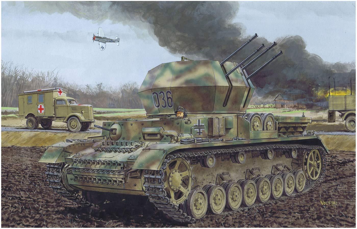 1/35『WW.II ドイツ軍 IV号対空戦車 ヴィルベルヴィント初期生産型(2 in 1)』プラモデル-001