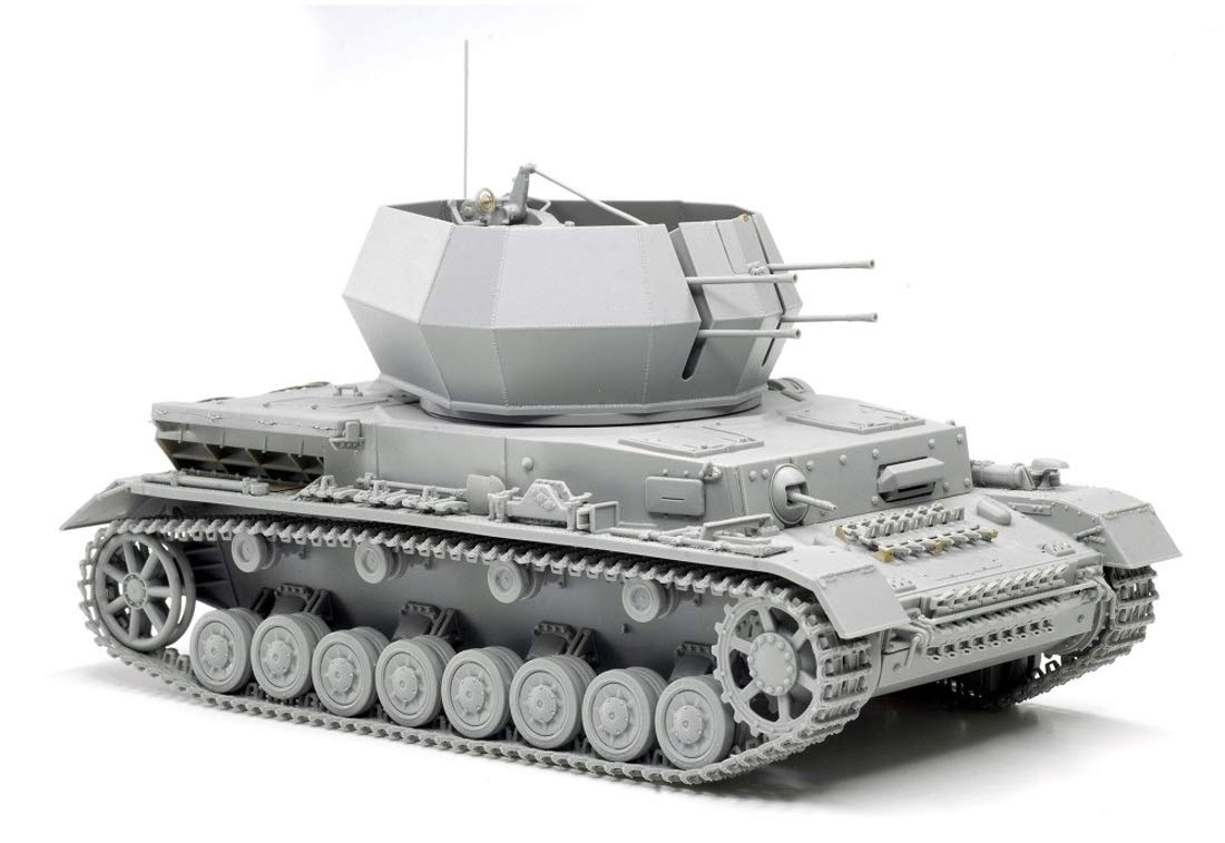 1/35『WW.II ドイツ軍 IV号対空戦車 ヴィルベルヴィント初期生産型(2 in 1)』プラモデル-003