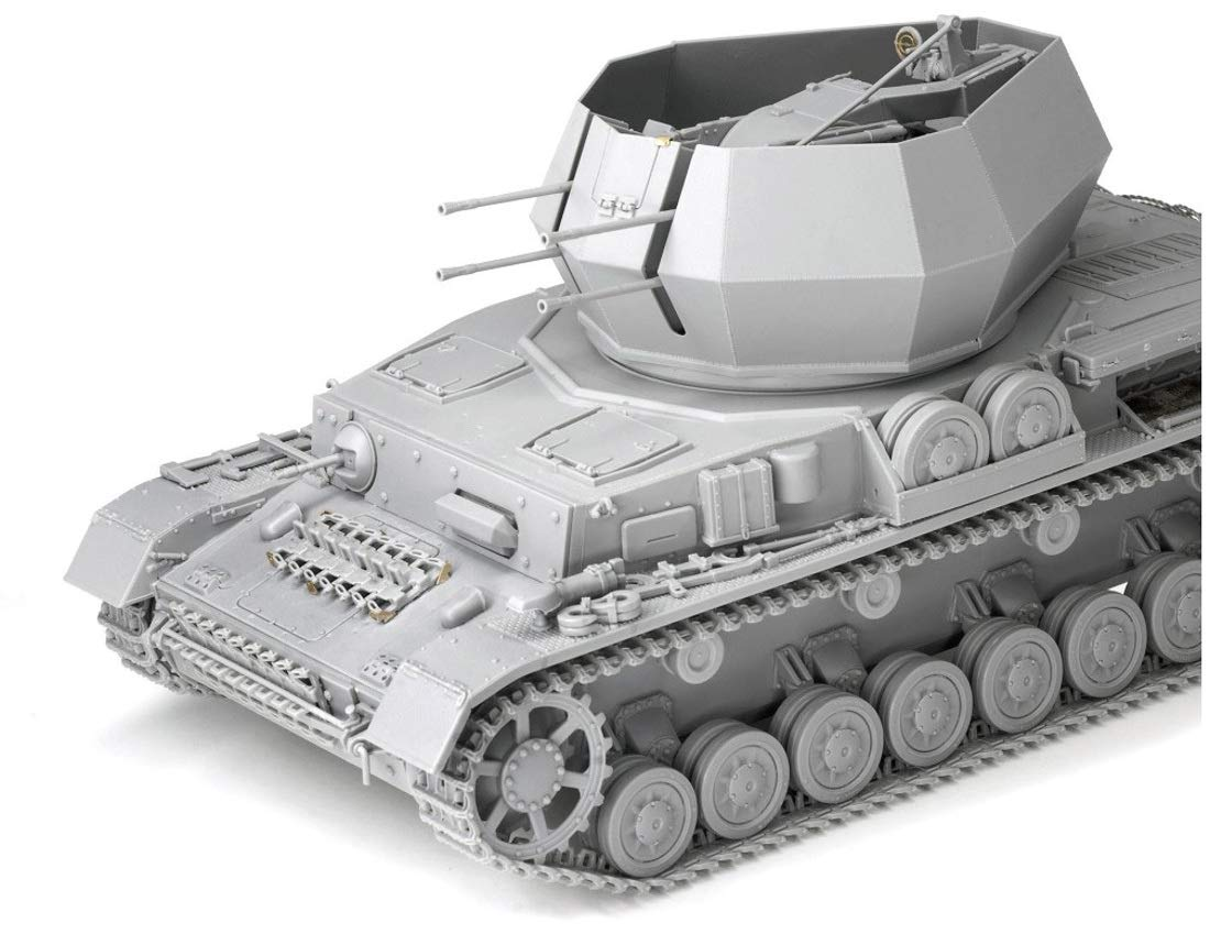 1/35『WW.II ドイツ軍 IV号対空戦車 ヴィルベルヴィント初期生産型(2 in 1)』プラモデル-004