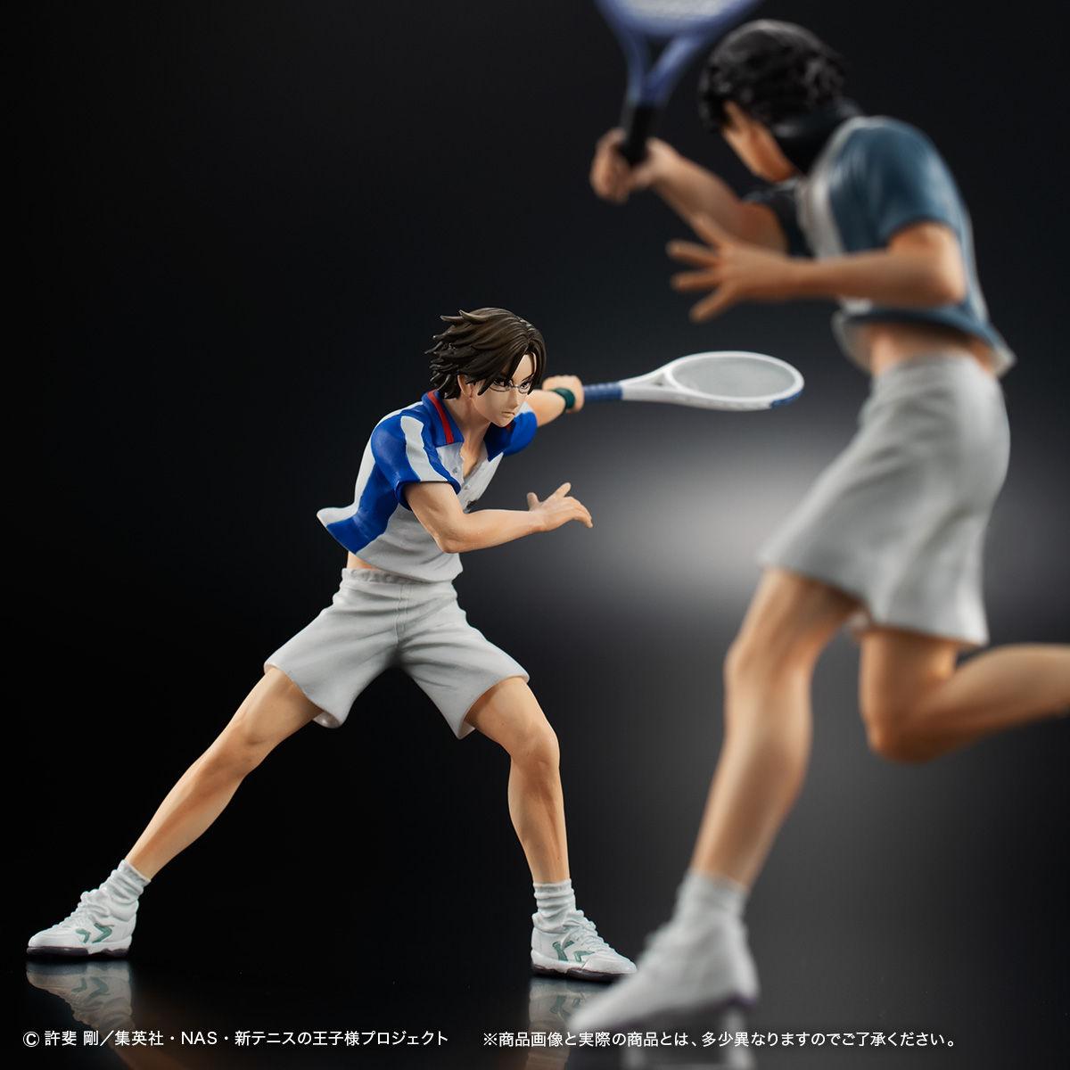 Gasha Portraits『手塚国光&跡部景吾』新テニスの王子様 フィギュア-008