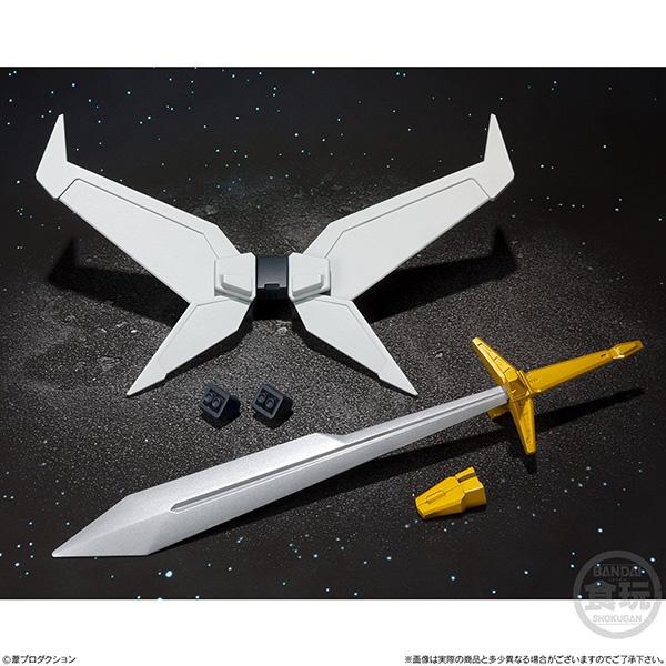 【食玩】スーパーミニプラ『超獣機神ダンクーガ オプションパーツセット』プラモデル