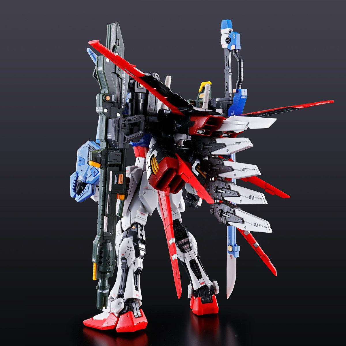 RG 1/144『パーフェクトストライクガンダム』ガンダムSEED プラモデル-003