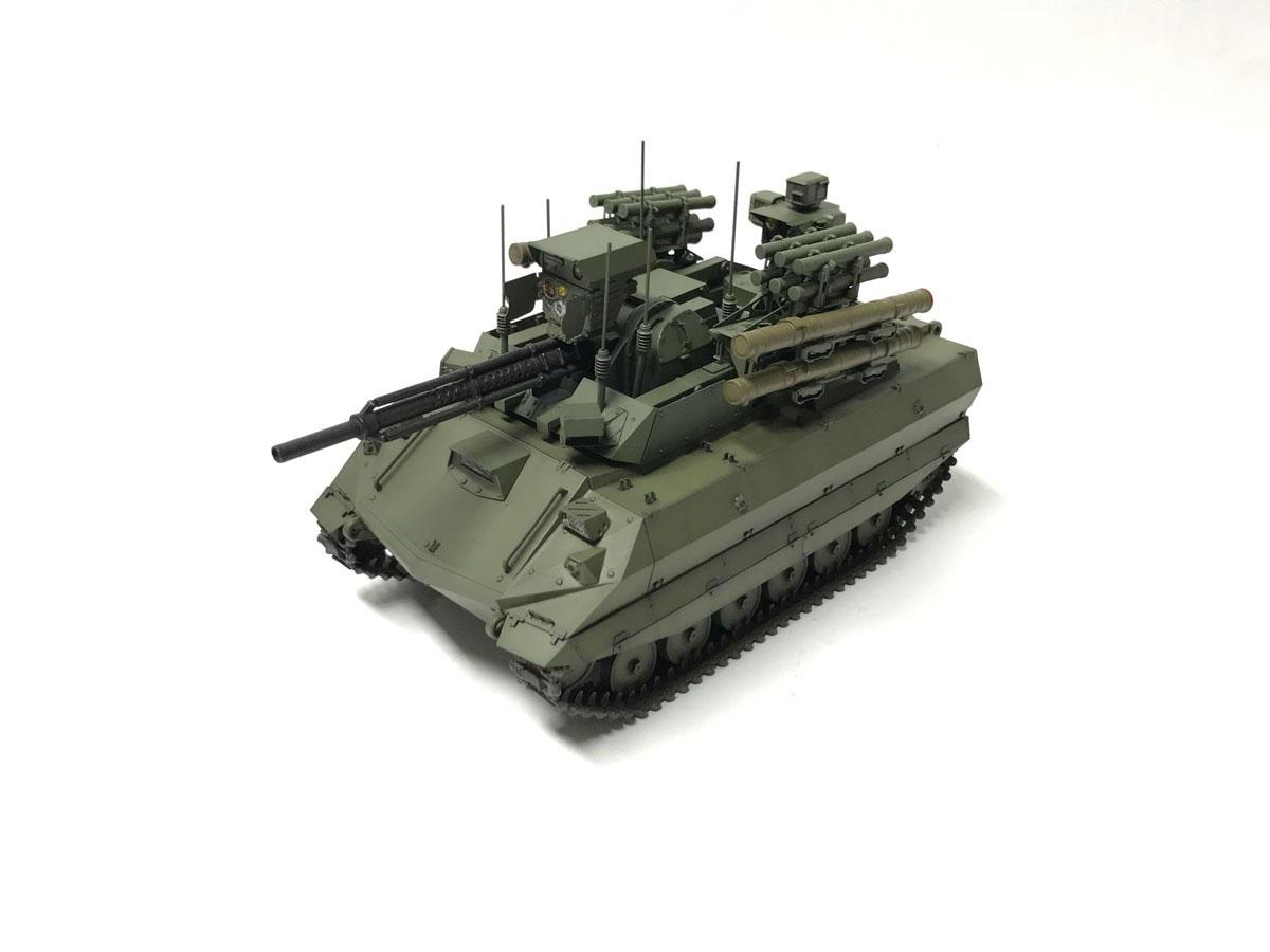 1/35『ロシア連邦軍 無人戦闘車輌 ウラン-9』レジンキット-001