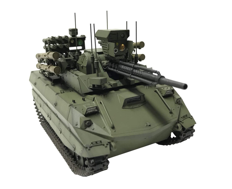 1/35『ロシア連邦軍 無人戦闘車輌 ウラン-9』レジンキット-002