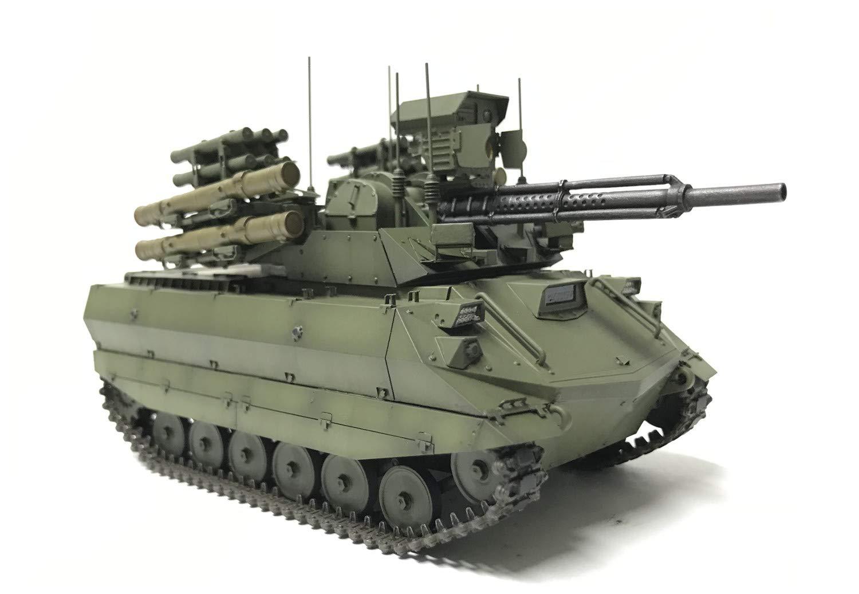 1/35『ロシア連邦軍 無人戦闘車輌 ウラン-9』レジンキット-003