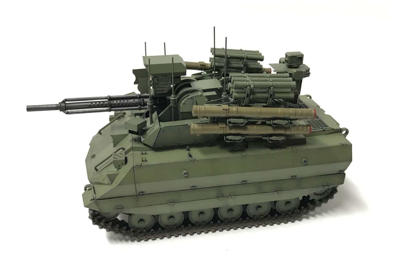 1/35『ロシア連邦軍 無人戦闘車輌 ウラン-9』レジンキット-004