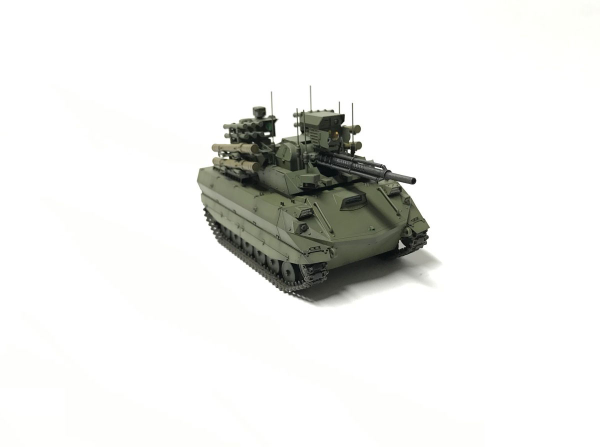 1/35『ロシア連邦軍 無人戦闘車輌 ウラン-9』レジンキット-005