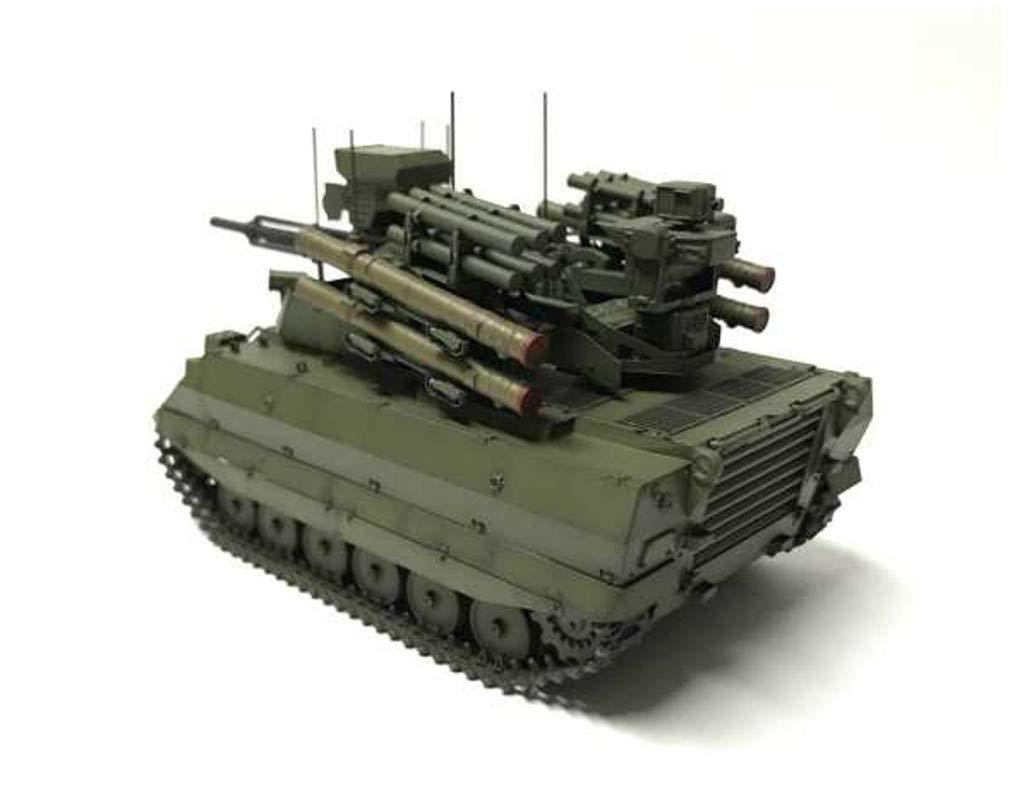 1/35『ロシア連邦軍 無人戦闘車輌 ウラン-9』レジンキット-006
