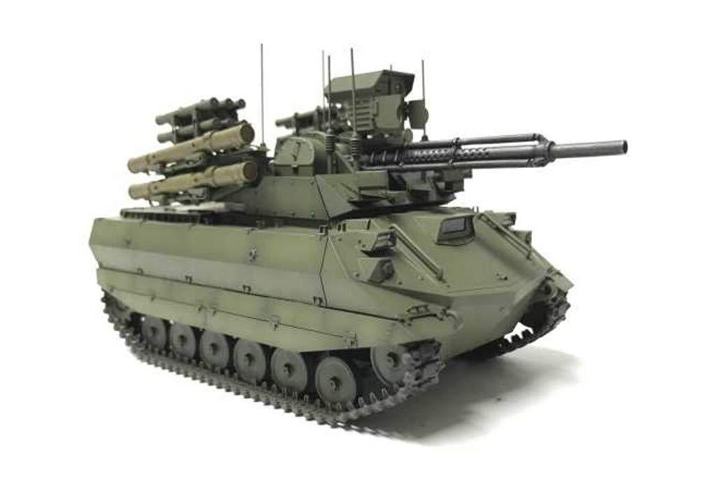 1/35『ロシア連邦軍 無人戦闘車輌 ウラン-9』レジンキット-007