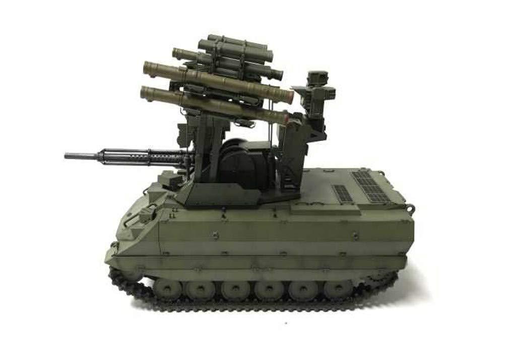 1/35『ロシア連邦軍 無人戦闘車輌 ウラン-9』レジンキット-008