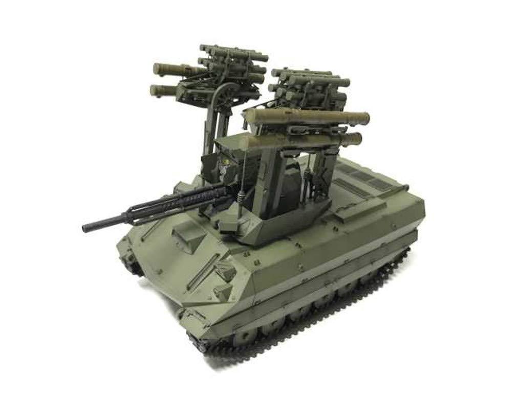 1/35『ロシア連邦軍 無人戦闘車輌 ウラン-9』レジンキット-009