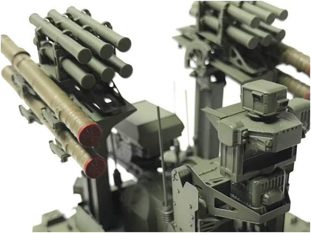 1/35『ロシア連邦軍 無人戦闘車輌 ウラン-9』レジンキット-011