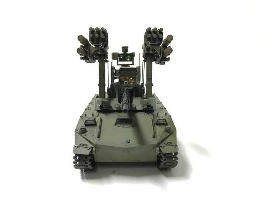 1/35『ロシア連邦軍 無人戦闘車輌 ウラン-9』レジンキット-012