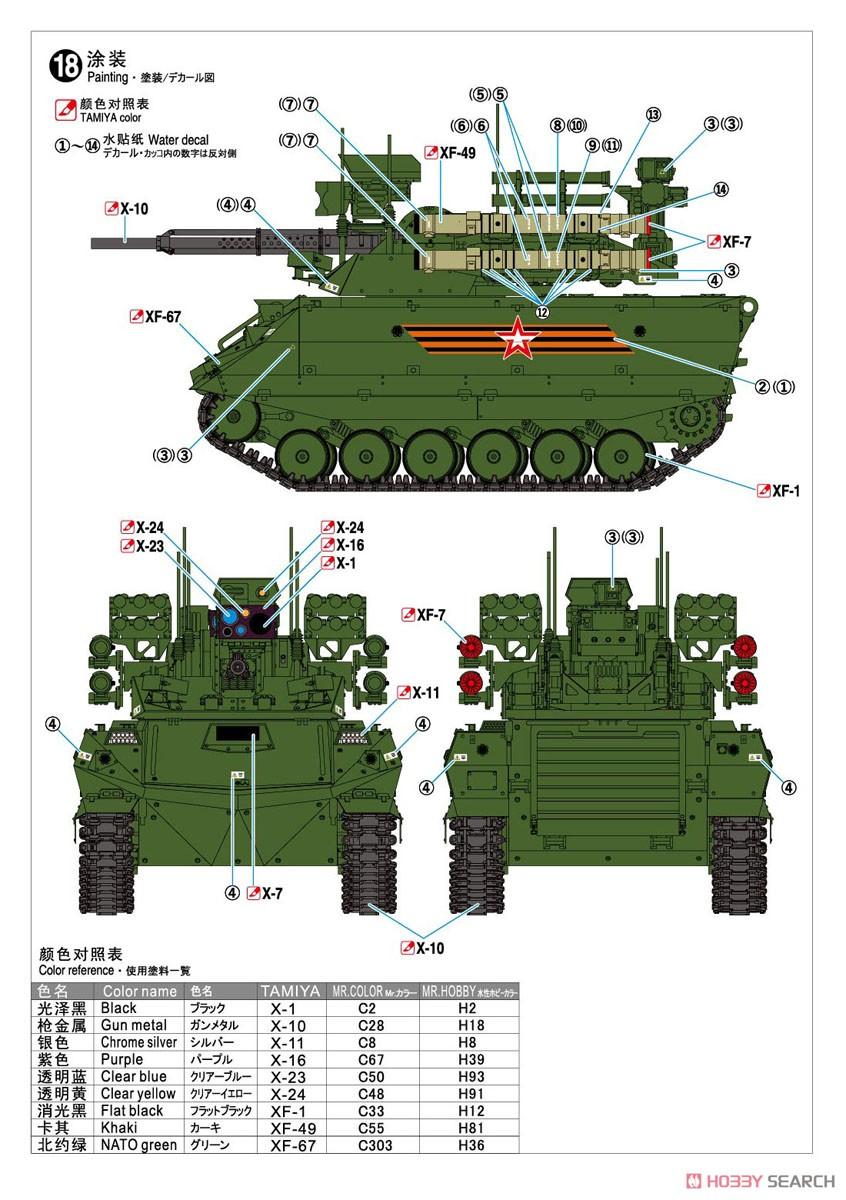 1/35『ロシア連邦軍 無人戦闘車輌 ウラン-9』レジンキット-014