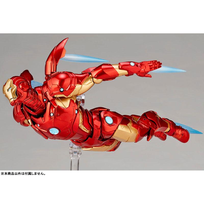 【再販】フィギュアコンプレックス アメイジング・ヤマグチ No.013『アイアンマン ブリーディングエッジアーマー』可動フィギュア-004