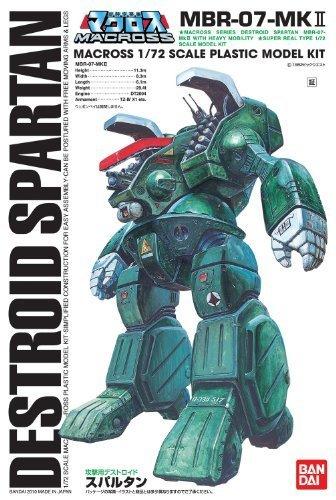 【再販】超時空要塞マクロス『攻撃用デストロイド スパルタン』1/72 プラモデル