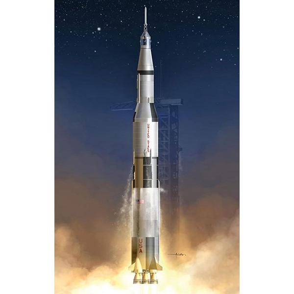 【再販】1/72『アポロ11号 サターンV型ロケット』プラモデル