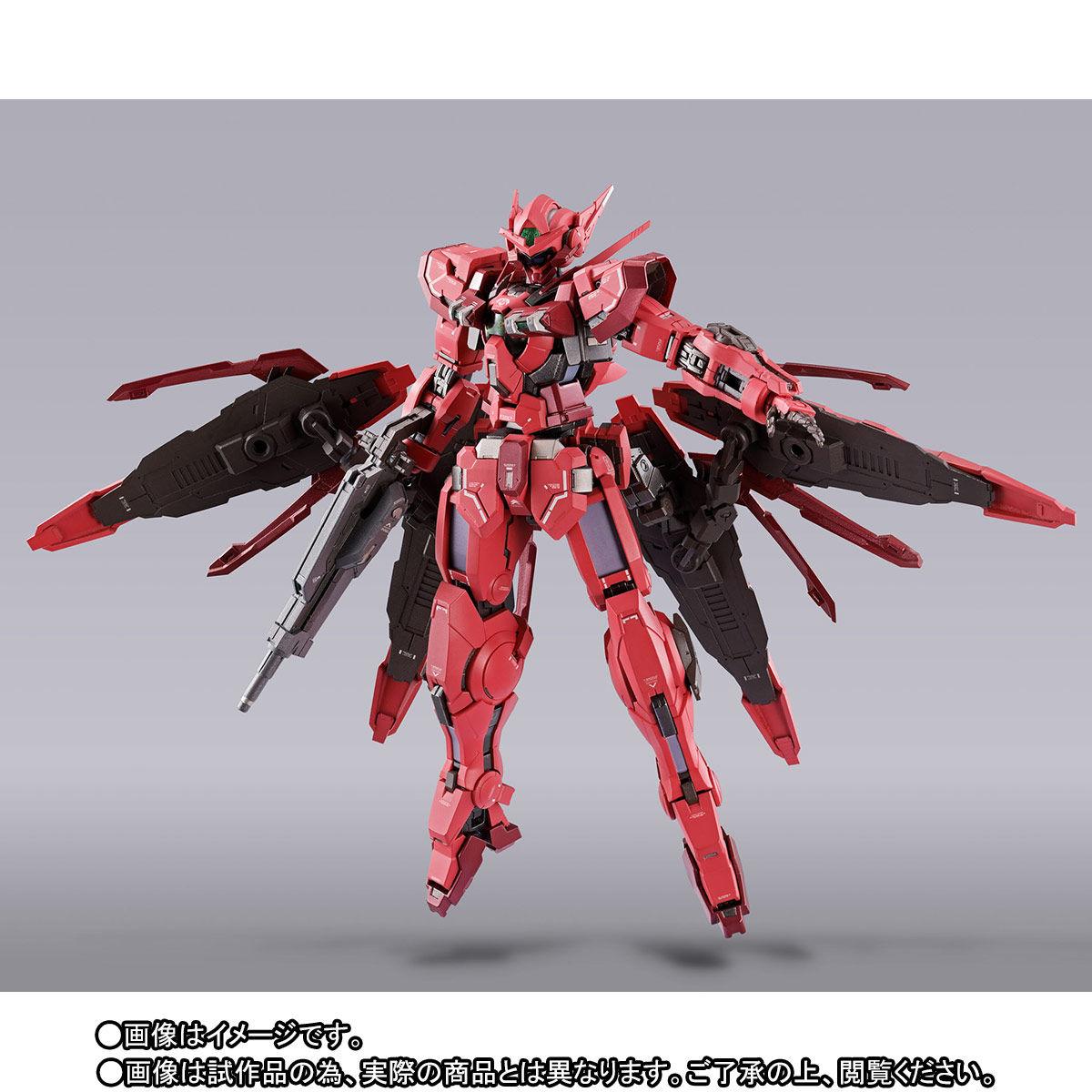 【先着販売】METAL BUILD『ガンダムアストレア TYPE-F(GN HEAVY WEAPON SET)』可動フィギュア-009