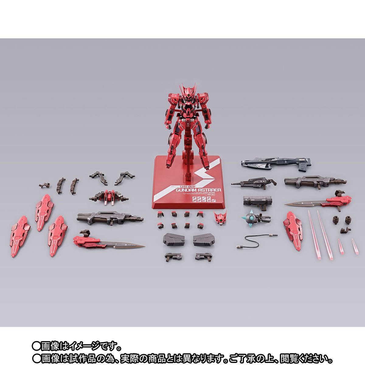 【先着販売】METAL BUILD『ガンダムアストレア TYPE-F(GN HEAVY WEAPON SET)』可動フィギュア-010