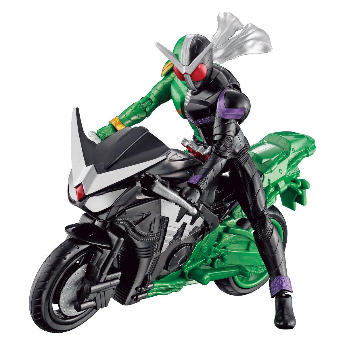 RKFレジェンドライダーシリーズ『仮面ライダーダブル サイクロンジョーカー&ハードボイルダー』可動フィギュア-002