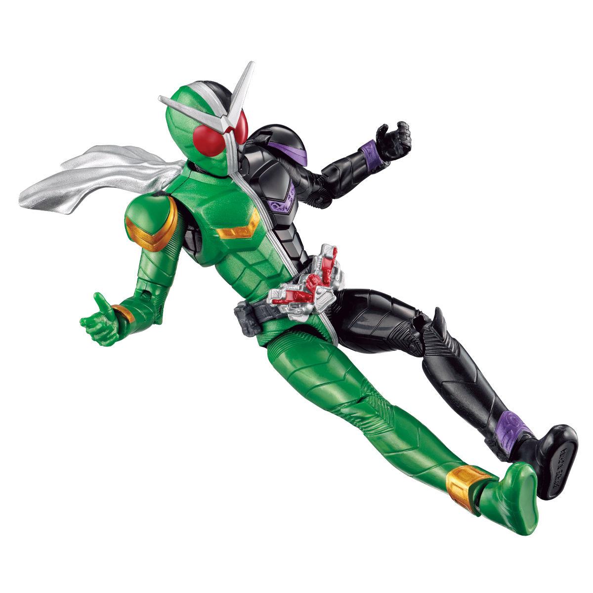 RKFレジェンドライダーシリーズ『仮面ライダーダブル サイクロンジョーカー&ハードボイルダー』可動フィギュア-006