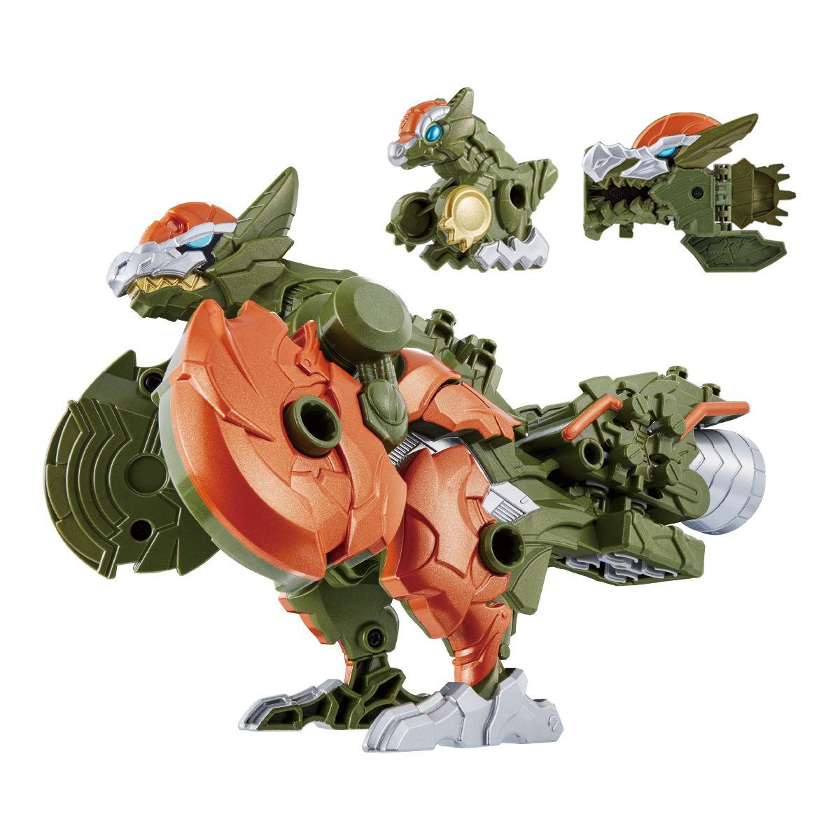 騎士竜戦隊リュウソウジャー『騎士竜シリーズ10 DXパキガルー』可変可動フィギュア-002