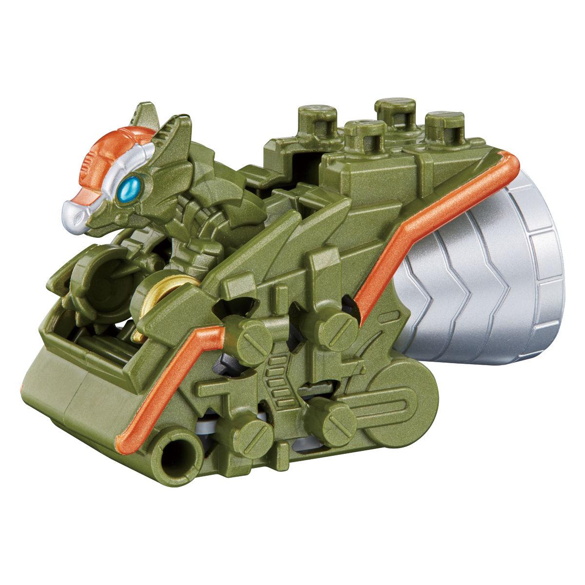騎士竜戦隊リュウソウジャー『騎士竜シリーズ10 DXパキガルー』可変可動フィギュア-004