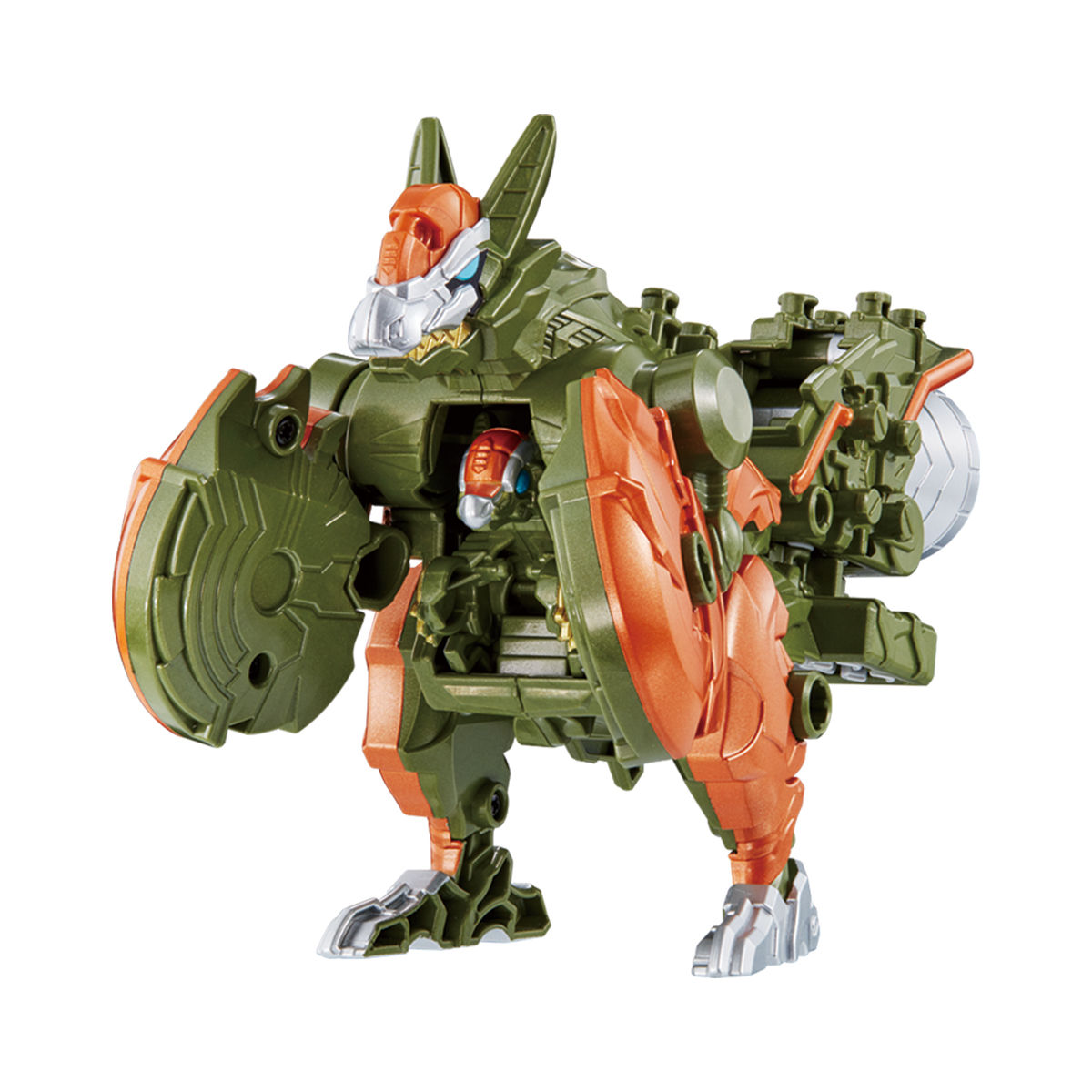 騎士竜戦隊リュウソウジャー『騎士竜シリーズ10 DXパキガルー』可変可動フィギュア-005